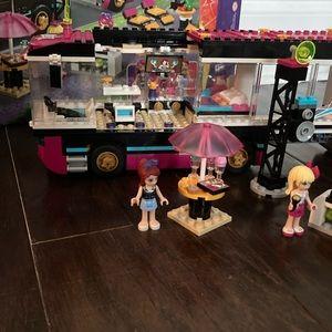 Lego Other - Lego Friends Pop Star Tour Bus 41106